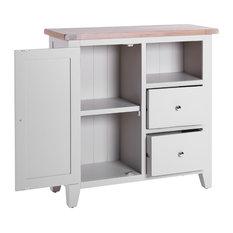 2-Drawer Organiser Cabinet, Light Grey