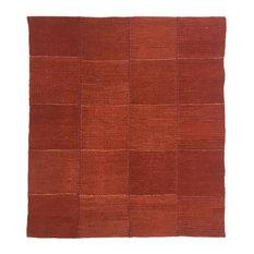 Rug & Relic Yeni Kilim, Modern Patchwork Flatweave, 2'11x3'3