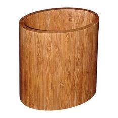 Totally Bamboo 20-2063 Oval Bamboo Utensil Holder