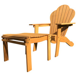 Traditional Adirondack Chairs by Pomegranate Solutions LLC