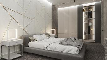 Реализация 2020: спальня в квартире 99м², Ростов-на-Дону