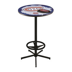Montreal Canadiens Pub Table 36-inch