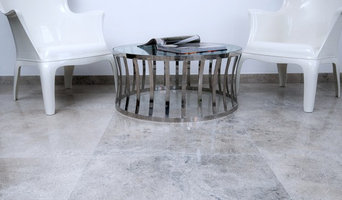 Launching Misty Blue limestone
