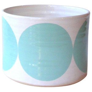Small Spots Bowl, Turquoise