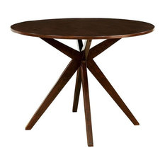 Furniture of America Xello Counter Height Round Dining Table