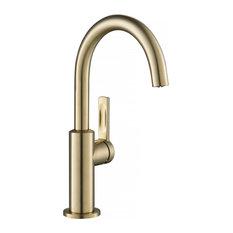 Oletto 1-Handle 1-Hole Kitchen Bar Faucet Spot Free ACB (Model KPF-2822SFACB)