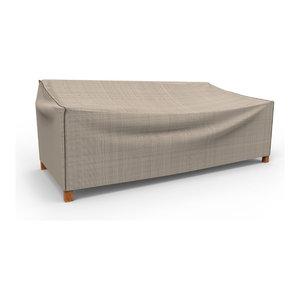 Budge English Garden Tan Tweed X Large Outdoor Sofa Cover, 35