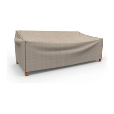 "Budge English Garden Tan Tweed X Large Outdoor Sofa Cover, 35""x100""x41"""