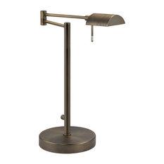 Sonneman 1-Light D Lite Table Lamp in Europa Bronze - 7035-29