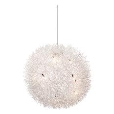 Warp Ceiling Lamp, Aluminum
