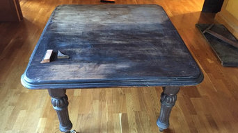 Restoration of Victorian Dining table