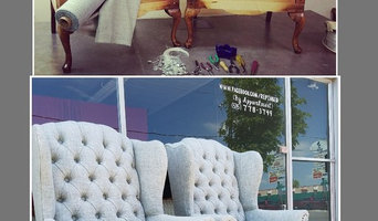 Custom Tufted Wingback Chair Upholstery