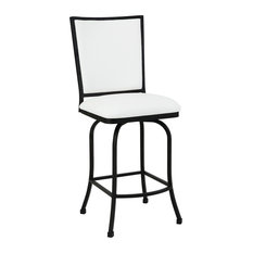 50 Most Popular White Swivel Counter Height Stools For