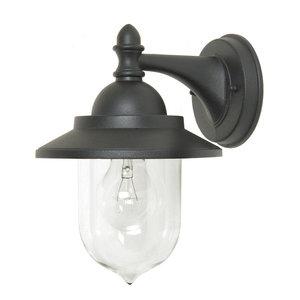 Outdoor Wall Lantern, Black
