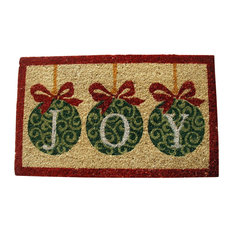 """""""Joy"""" Ornaments Doormat"""