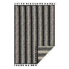 "Loloi Inc. - Loloi x Justina Blakeney Kahelo Rug, Black/Gray, 7'9""x9'9"" - Area Rugs"