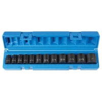 Grey Pneumatic Corp.  .38 in. Drive 12 Piece 12 Point Standard Length Set