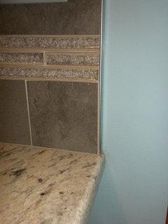Subway Tile Backsplash How Did You Terminate Your Tile