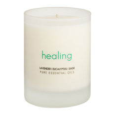 Candle Intentions, White, 7.5 Ounces, Healing