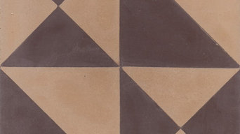 """Origami 8""""x8"""" Cement Tiles by Tesselle"""