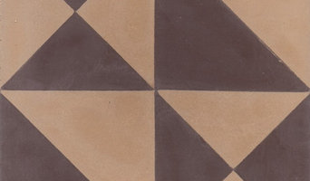 "Origami 8""x8"" Cement Tiles by Tesselle"