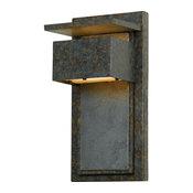 "Zephyr, Muted Bronze, 7""x5.5""x14"""
