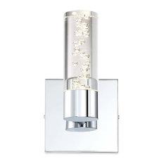 H2O LED Bathroom Light, Chrome