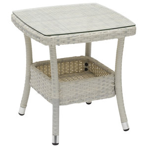 Wisconsin Side Table, White