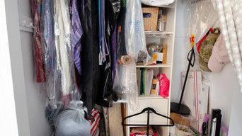 Artist's Home Office Closet