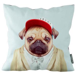 Evermade Zoo Portrait Cushion, Pug