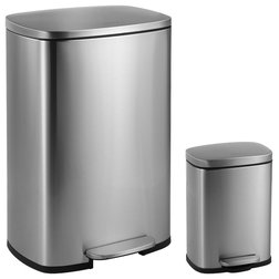 Contemporary Trash Cans by Jonathan Y Designs, INC