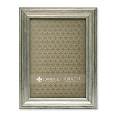 "Sutter Burnished Silver Picture Frame, 5""x7"""
