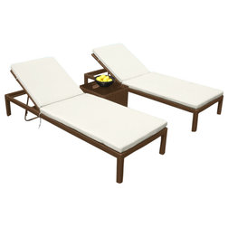 Contemporary Outdoor Chaise Lounges by MangoHome
