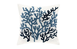 Harbor House Beach House Decorative Pillow in Blue Finish HH30-272