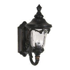 Most popular victorian outdoor wall lights and sconces houzz kalco lighting outdoor glass wall sconce burnished bronze 165x675 workwithnaturefo