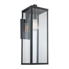 "Trans Globe Lighting 40752 Oxford 1 Light 22-1/2"" Tall Outdoor - Black"