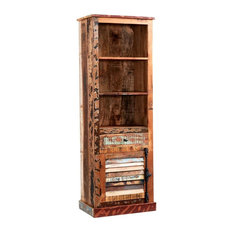 Drift Wood Narrow Bookcase
