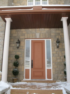 Fiberglass doors vs wood pros and cons - Steel vs fiberglass exterior door ...