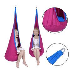 Costway Child Pod Swing Chair Tent Indoor Outdoor Hanging Seat Hammock Kids