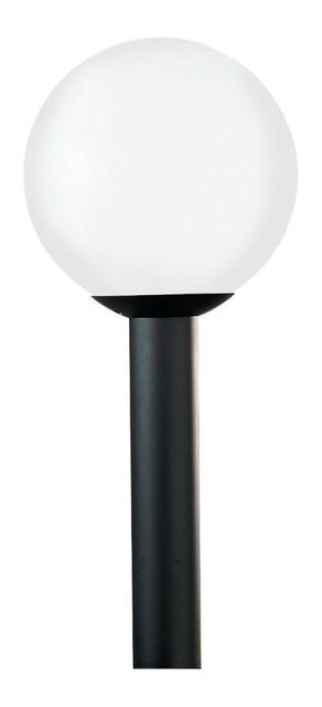 1 light post lantern white plastic contemporary post lights by 1 light post lantern white plastic aloadofball Images