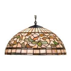 "Meyda Tiffany 17531 3 Light 20"" Wide Pendant with Handmade Shade"