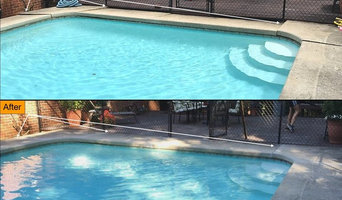 Pool Deck Before After
