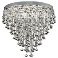 Elegant Lighting V2006D28C/EC Galaxy 12-Light Hanging Fixture