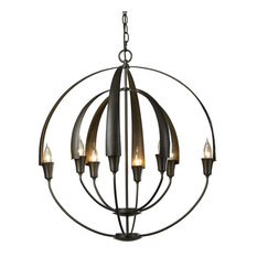 Most popular hubbardton forge chandeliers for 2018 houzz hubbardton forge hubbardton forge 104205 1003 double cirque chandelier chandeliers aloadofball Images