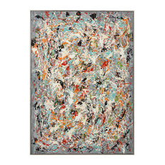 Uttermost Organized Chaos Hand Painted Canvas