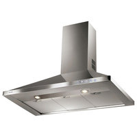 "36"" Classica Wall Canopy Range Hood, Stainless Steel"