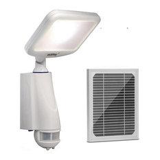 eLEDing 5th Gen 180 Degree CREE LED Smart Solar Outdoor Flood Light, White