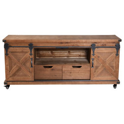 Industrial Entertainment Centers And Tv Stands by StyleCraft