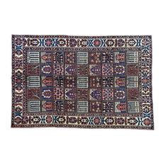 "Consigned 6'6""x9'10"" Persian Bakhtiari Handmade Mint Cond Rug"
