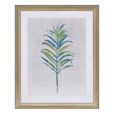 Paragon Naturals Coastal Watercolor Palms III Wall Art